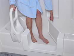The Safeway Safety Step - Handicap Bathing Solution
