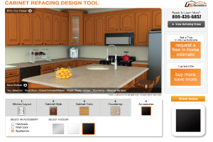 Take on a Kitchen Cabinet Remodeling Project Today with Design Help from Our Kitchen Cabinet Refacing Design Tool