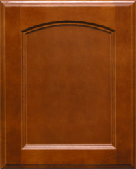 Kensington Arched Wood Kitchen Cabinet Door