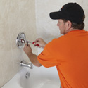 Bathroom Refacing Process - Faucet and Hardware Installation