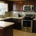 Kitchen Cabinet Refacing Process - Installing New Cabinets